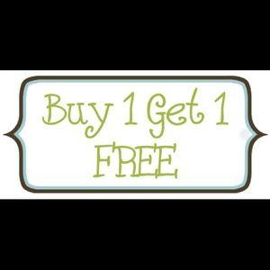 ⭐️Buy one item get one item free ⭐️
